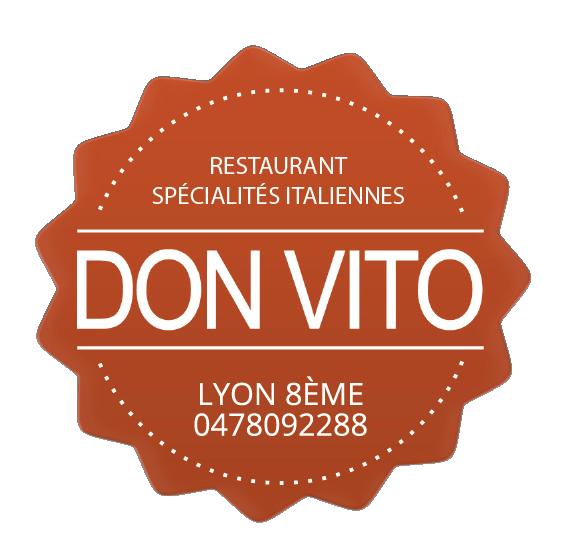 Logo Don Vito Restaurant italien Lyon